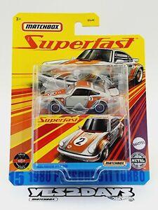 MATCHBOX SUPERFAST : 1980 PORSCHE 911 TURBO : New Sealed : GKP51