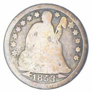 Historic 1853-O Seated Liberty Dime *911