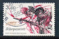 STAMP / TIMBRE FRANCE OBLITERE N° 2313 RESISTANCE ET DEBARQUEMENT