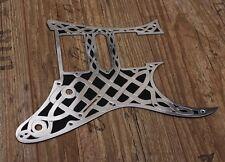Metal guitar Pickguard fits Ibanez RG or Jem celtic design handmade