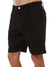 Rusty New NWT Men's Grilled Walk Shorts Black Size 36