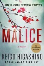 Malice : A Mystery by Keigo Higashino (2015, Paperback)