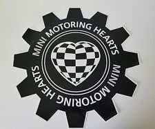 RARE MINI Motoring Rally DECAL GARAGE ART Cooper Clubman Paceman Countryman S