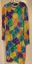 House Of Holland Pom Pom Long Sleeve Sheath Dress Medium