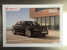 Seat Exeo S - SE - Sport - UK sales brochure - FREE P & P