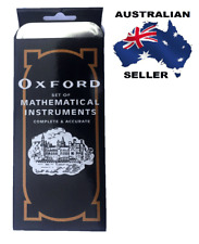 Oxford set Of MATHEMATICAL INSTRUMENTS complete & accurate