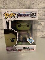 Avengers End Game Funko Pop - Hulk Exclusive 463,funko Insider Club Sticker