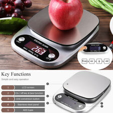10kg/1g Stainless LCD Digital Kitchen Food Scale Jewelry Weight Precision Scale