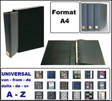 LOOK 1-4880K-PL A4 Postkartenalbum Sammelalbum EXTRA BIG + Schutzkassette leer