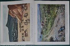 1944 magazine article, BRAZIL, color photos, strategic value WWII happenings etc