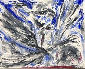 """""""Love,Hate,Sex,Pain """", Original Painting Canvas  Art  Oils #michaelscottwoodcock"""