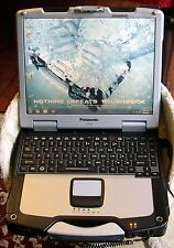 Panasonic Toughbook CF-30 GPS TOUCHSCREEN BACKLIT WIN 7 GOBI READY TO USE LAPTOP