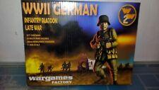 warlord games bolt action caja infantería alemana casa wargames 28 mn