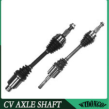 Front Pair CV Axle Joint Assembly For Chevy Equinox Sport AWD FWD 3.6L V6 08-09
