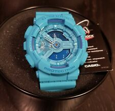 CASIO G-Shock GA-110B-2 Blue Hyper Color Limited Edition Mens Analog