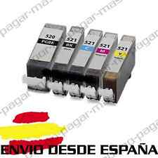 5 CARTUCHOS DE TINTA COMPATIBLES NonOem PARA CANON PIXMA IP 3600 IP 4600 MP 540