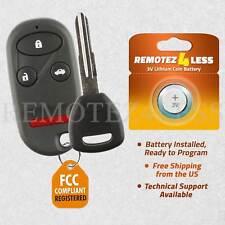 Keyless Entry Remote for 1998 1999 2000 2001 2002 Honda Accord Fob Car Key