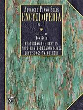 Advanced Piano Solos Encyclopedia, Vol 1 by Tom Roed