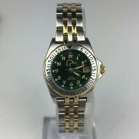 Ducks Unlimited Womens Two Tone Stainless Steel Band Vintage Rare Watch