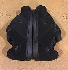 DVS Discord Size 9 US Deegan Black Nubuck Havoc Militia BMX DC Skate Shoes