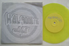 "7"" Hal 9000 ‎– Wonderfull! - Yellow Vinyl"