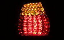 LUCES TRASERAS LED Set BMW E46 3er Cabrio 00-03 Negro fumar + INDICADOR LED