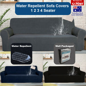 Sofa Cover Couch Cover 1 2 3 4 Seater Water Repellent Lounge Slipcover Protector