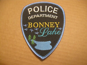 BONNEY LAKE WASHINGTON POLICE PATCH