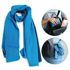 "Cooling Towel (40""x12""),Ice Towel,Soft Breathable Chilly Towel, Microfiber Towel"
