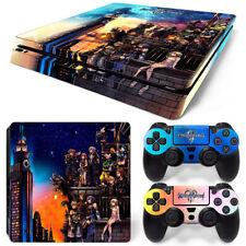 Kingdom Hearts 3 PS4 Slim Decal Sticker Playstation 4 PS4Slim Controller Skin
