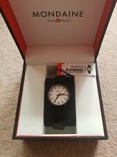 Mondaine Evo2 30mm White Dial Leather Strap Ladies Watch MSE.30111.LB