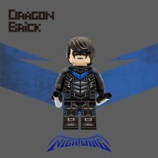 **NEW** DRAGON BRICK Custom Nightwing Lego Minifigure