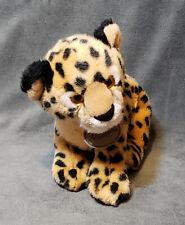 """Aurora Busch Gardens Spotted Leopard Cheetah Cub 11"""" Plush"""