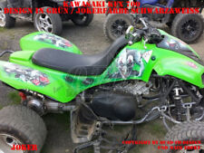 INVISION DEKOR GRAPHIC KIT ATV KAWASAKI KFX 700 JOKER GRÜN LAGERWARE