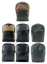 Совершенно новый Coach мужские (F38755 F37599 F50719) большие Грэм кожаный рюкзак сумка