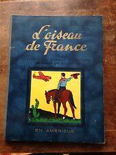 l'oiseau de france en amérique EO (1936) illustration de HERGE père de Tintin