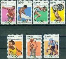 Nicaragua 2346 - 2352  , ** , Olympische Spiele 1984