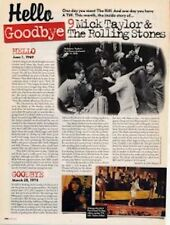 Hello, Goodbye Mick Taylor & The Rolling Stones Cutting
