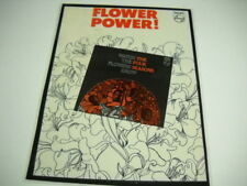 The Four Seasons Have Flower Power Rare Preserved 1967 Philips Promo Poster Ad
