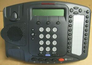 Aspect 3Com 3C10402A 3102 Desktop Charcoal VoIP Phone With Stand No AC Adapter