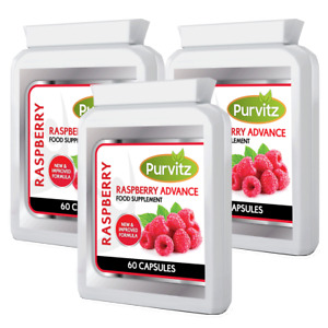 180 x Raspberry Advance MAX Strength Strong Weight Loss x3 Bottles Made In UK
