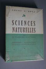 Livre scolaire - Sciences Naturelles - Obré - Hachette - Camefort Gama - 1959