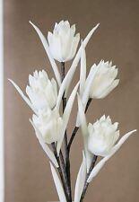 28528 flor de la espuma Raspa Blanco Gris con flores y Browse Flor : 7 x 11cm