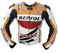 Repsol MotoGp Motorbike Jacket Motorcycle Racing Leather jacket