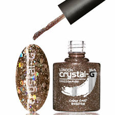 CRYSTAL-G - SEQUINS & DIAMOND GLITTER - UV LED GEL NAIL POLISH VARNISH