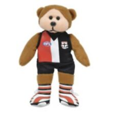 SKANSEN BEANIE KID ST. KILDA  SAINTS AFL BEAR MINT WITH MINT TAG MARCH  2012
