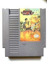 Operation Wolf - NES Nintendo Light Gun Game Tested + Working & Authentic!