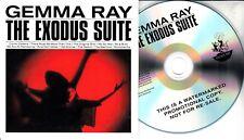 GEMMA RAY The Exodous Suite 2016 UK 12-trk promo test CD