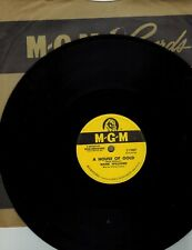 Hank Williams 78 rpm record''A House of Gold'' M.G.M. Records''