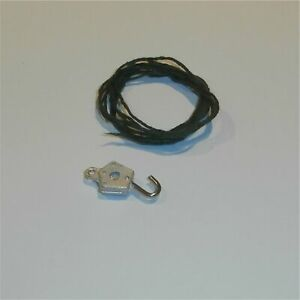 Dinky Toys Supertoys Crane Hook with Wire for early models